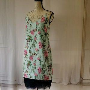 NWOT Adelyn Rae Floral Print Slip Dress